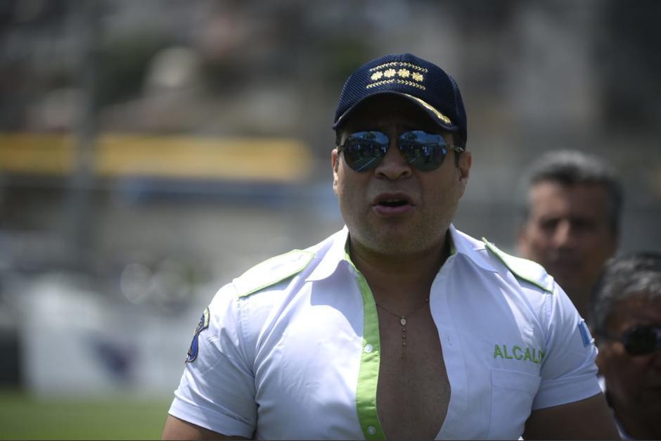 El jefe municipal de Mixco arremetió contra la decisión presidencial. (Foto: Archivo/Soy502)