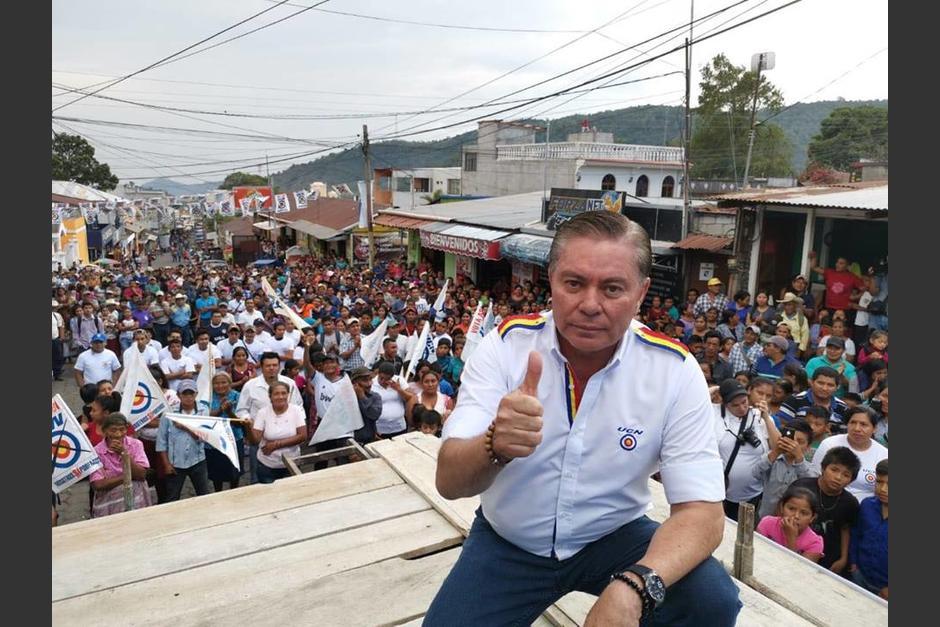 El Miércoles Santo del 2019, Mario Estrada, candidato a la presidencia por la UCN, fue capturado por la DEA en EE.UU. por conspirar para la importación de drogas y para el asesinato de opositores. (Foto: Facebook/UCN)