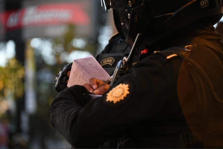 Un prestamista colombiano fue detenido por amenazas de muerte. (Foto: PNC)