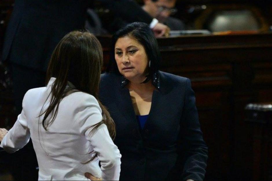La exdiputada Delia Back se presentó a la citación judicial en Sacatepéquez. (Foto: archivo)