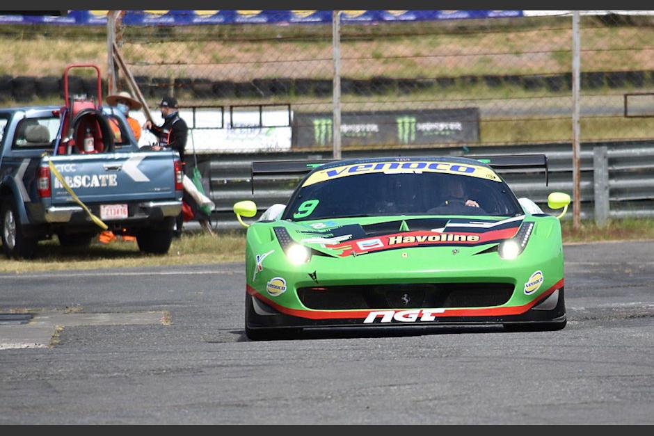 Carlos Zaid, el campeón de GT Challenge de Las Américas. (Foto: César Pérez)