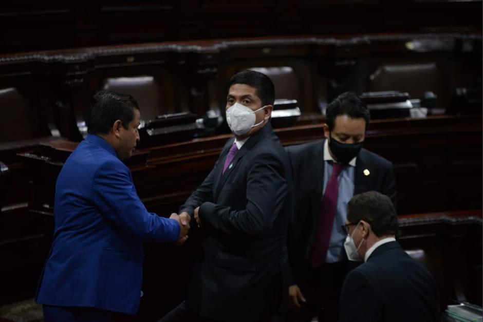 Moto contó con el respaldo de los oficialistas y sus aliados. (Foto: Wilder López/Soy502)