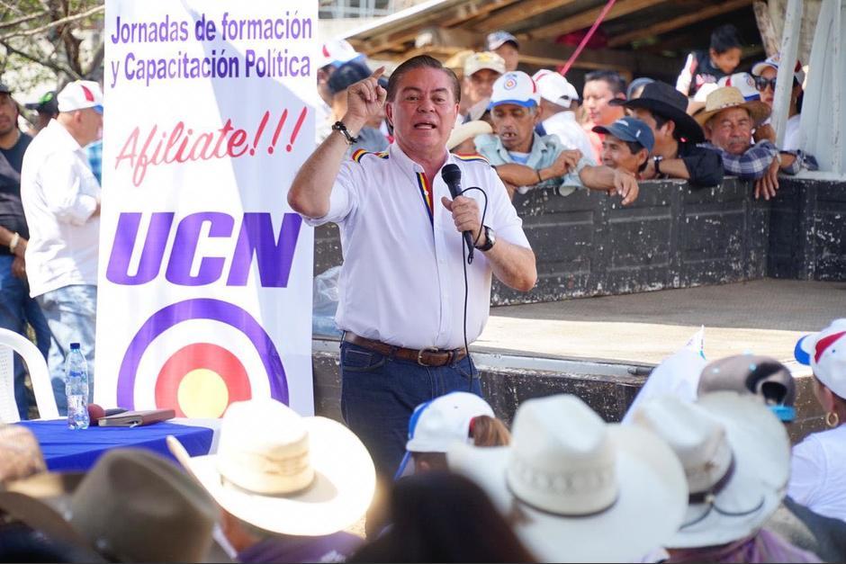 El excandidato a la presidencia por la UCN, Mario Estrada, enfrenta una condena en EE.UU. por los delitos de narcotráfico. (Foto: Facebook UCN)