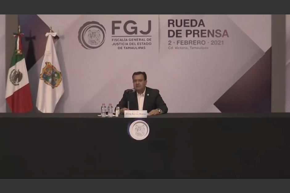 La Fiscalía General de Justicia de Tamaulipas condenó el crimen cometido contra los migrantes. (Captura Video)