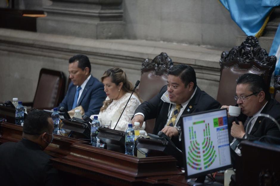 El presidente del Congreso asegura que la PDH ya no tiene espacio presupuestario. (Foto: Wilder López/Soy502)