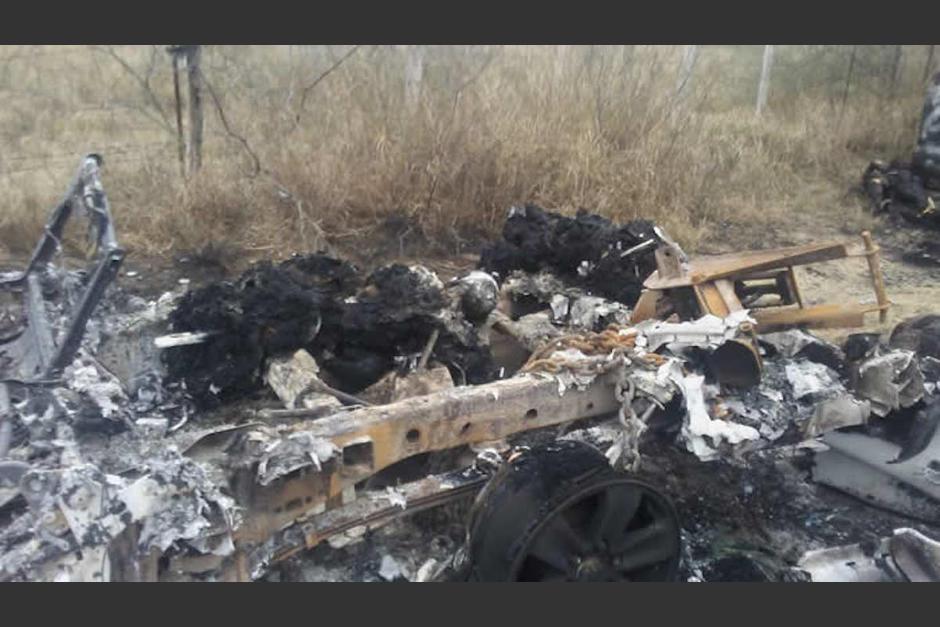 El 22 de enero fueron localizados 19 cuerpos calcinados en Tamaulipas, México, 14 de las víctimas eran migrantes guatemaltecos. (Foto: OpaNoticias)