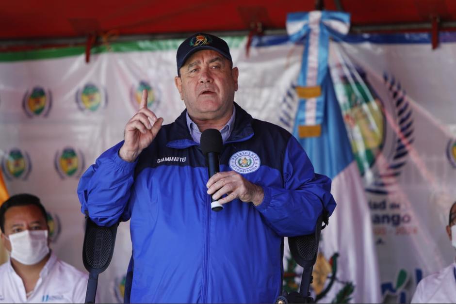El presidente Alejandro Giammattei volvió a solicitar la reactivación de la pena de muerte en Guatemala. (Foto: Archivo/Soy502)