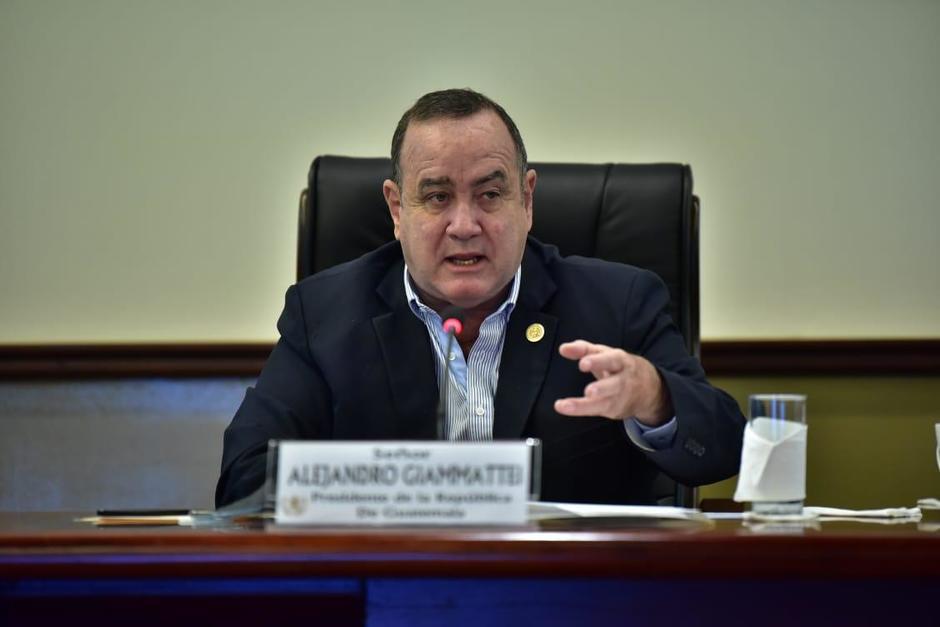 El presidente Alejandro Giammattei ha solicitado al Congreso reactivar la pena de muerte como mecanismo para combatir la inseguridad contra las mujeres y los niños. (Foto: Archivo/Soy502)