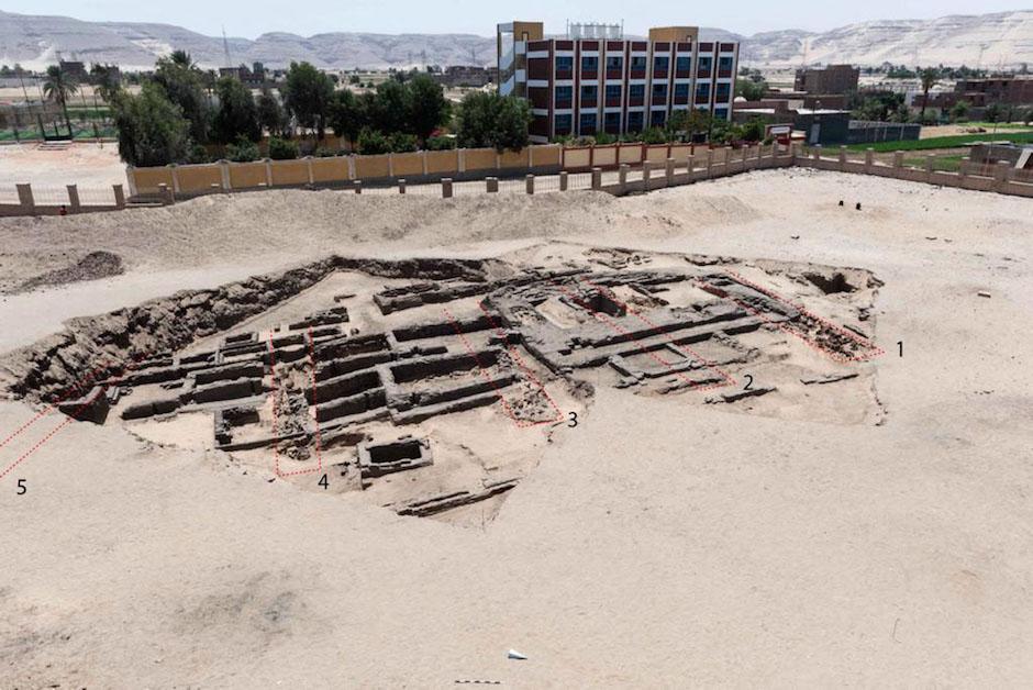 En Egipto descubren una cervecería de producción a gran escala. (Foto: AFP)