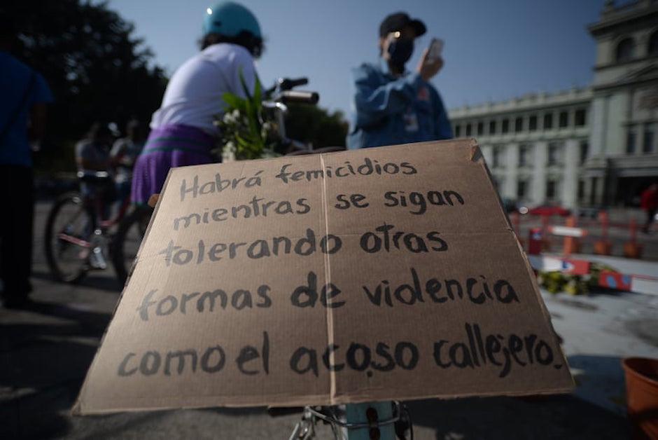 La manifestación se realizó el domingo 14 de febrero.  (Foto: Wilder López/Soy502)