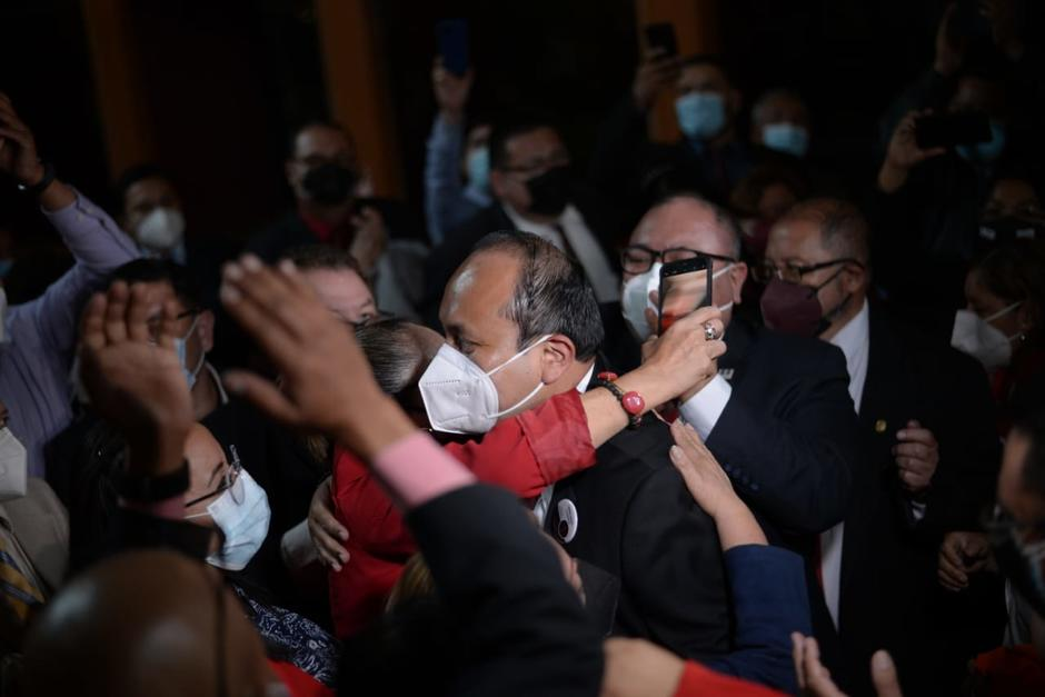 Fernando Chacón ganó la elección del Colegio de Abogados. (Foto: Wilder López/Soy502)