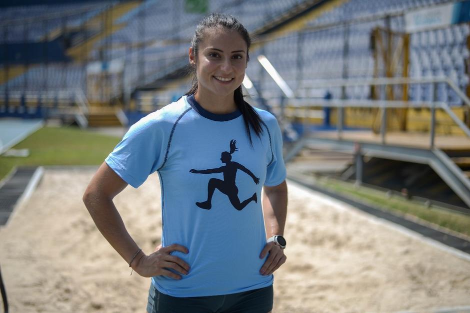 Thelma Fuentes busca clasificarse a las olimpiadas de Tokio. (Foto: Wilder López/Soy502)