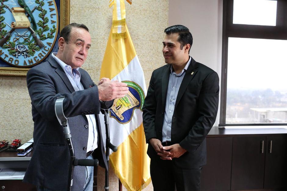 El alcalde de Mixco, Neto Bran acusó al presidente de ser parte del pacto de corruptos. (Foto: Archivo/Soy502)