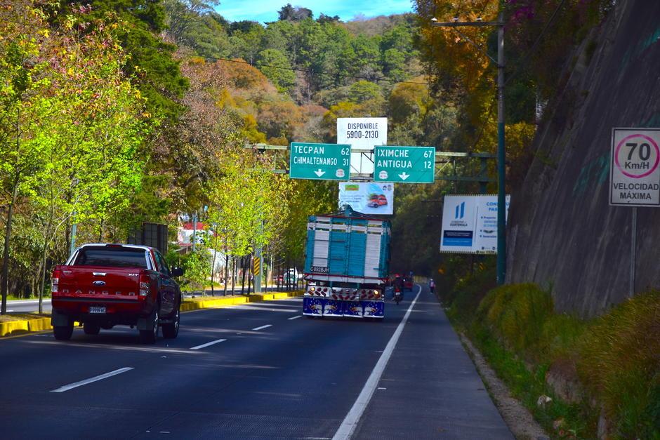 El paso a desnivel se ubicará en el kilómetro 27 de la ruta Interamericana. (Foto: Fredy Hernández/Soy502)