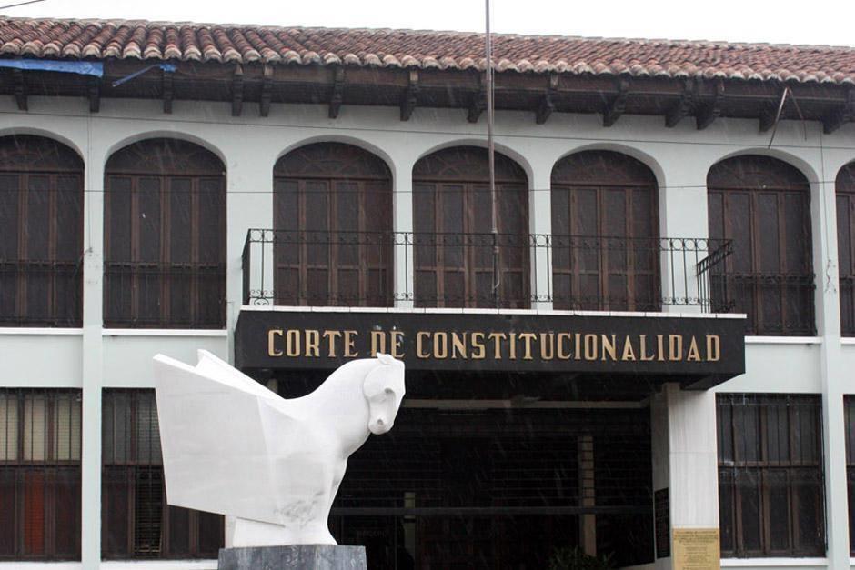 El nuevo mandato de la Corte de Constitucionalidad inicia el 14 de abril de 2021. (Foto: archivo/Soy502)