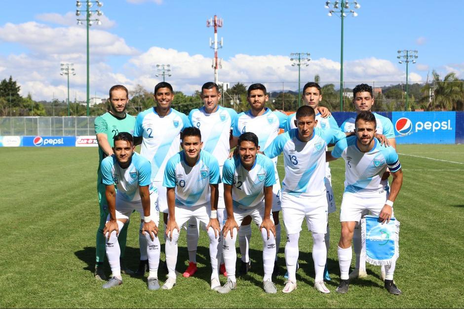 El cuadro guatemalteco logró el gol en el último minuto de reposición. (Foto: Fedefut Guate)