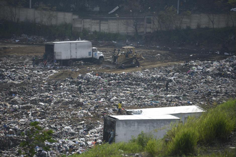 El vertedero de Villa Nueva ha sido foco de atención en las últimas semanas por un incendio de grandes proporciones que generó contaminación. (Foto: Archivo/Soy502)