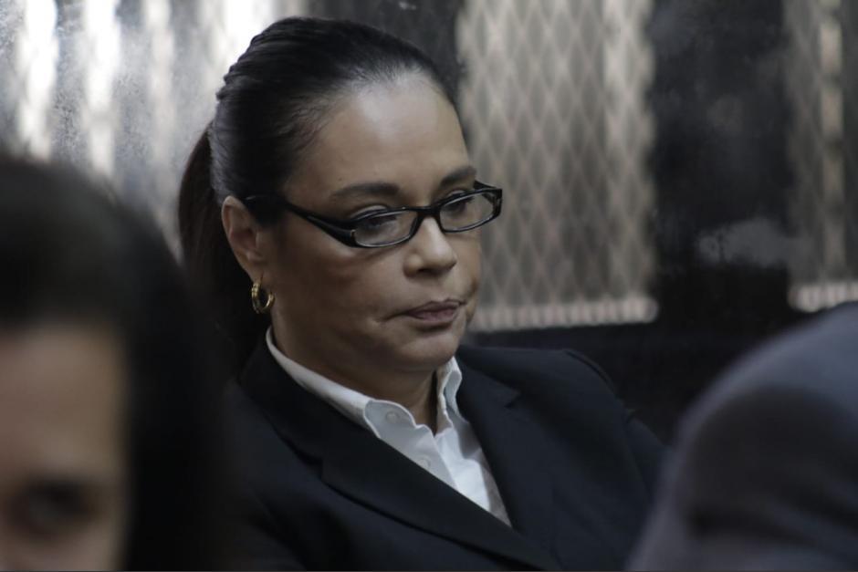 Roxana Baldetti permanece en la cárcel para mujeres Santa Teresa, ubicada en la zona 18. (Foto: archivo/Soy502)