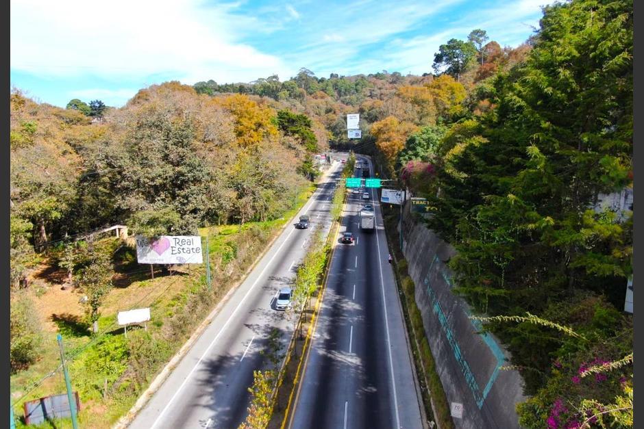 Los trabajos de construcción aún no han empezado en el kilómetro 27 de la ruta Interamericana. (Foto: Sara Melini/Nuestro Diario)