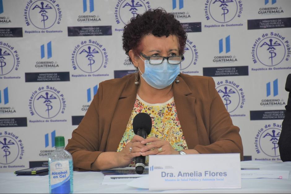 La ministra de Salud, Amelia Flores, anunció disposiciones y nuevas restricciones para los próximos días. (Foto: Archivo/Soy502)