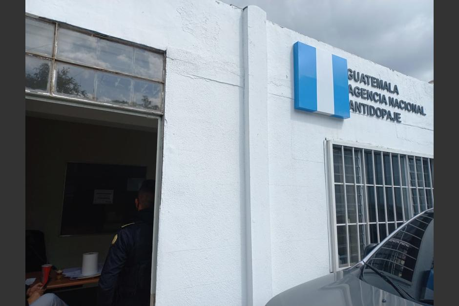 La sede de la Agencia Antidopaje de Guatemala fue allanada. (Foto: MP)