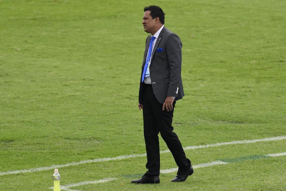 El seleccionador guatemalteco fracasó en las eliminatorias mundialistas y en sus aspiraciones a clasificar a la Copa Oro. (Foto: Nuestro Diario)