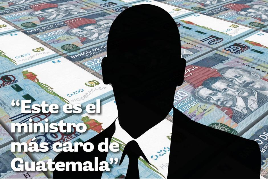Guatemala tiene al Presidente mejor pagado de la región, pero ¿cuánto gana un Ministro de Estado? (Ilustración: Javier Miranda/Soy502)
