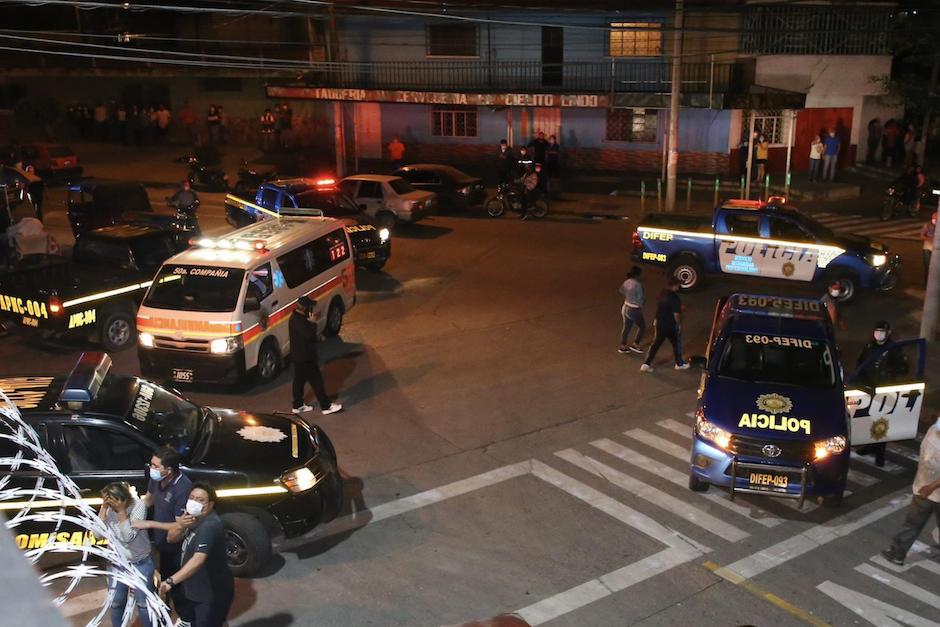 El ataque armado ocurrió en una discoteca de zona 6. (Foto: Nuestro Diario)