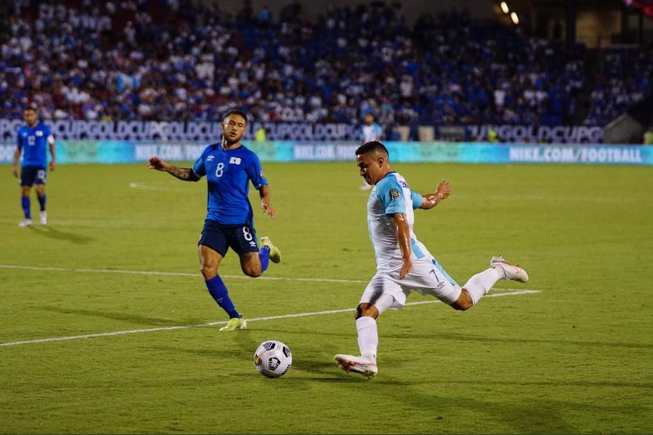 Guatemala perdió 2-0 frente a El Salvador. (Foto: Fedefut)