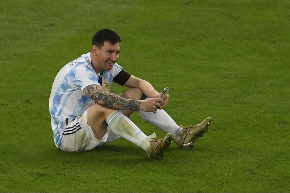La videollamada de Messi con su familia en el Maracaná