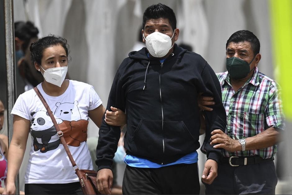 La situación hospitalaria en el país es crítica. (Foto: AFP)