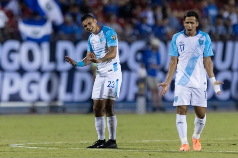 Guatemala logró el empate ante Trinidad y Tobago en el último partido de la Copa Oro. (Foto: Archivo/AFP)