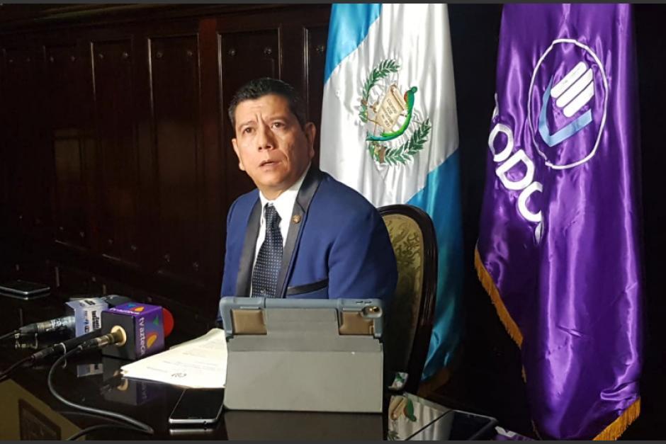 El exdiputado Juan Ramón Lau tomó el control del partido Todos en Mixco. (Foto: ilustrativa / archivo)