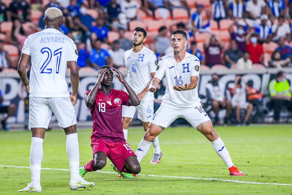 Honduras cayó ante Catar y deberá enfrentarse a México en Cuartos de Final. (Foto: Gold Cup)
