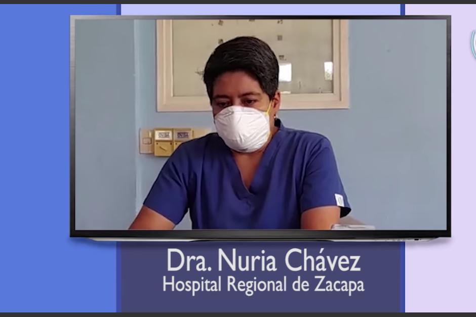 El Hospital de Zacapa está colapsado, dice médica del lugar. (Foto: Hospital)