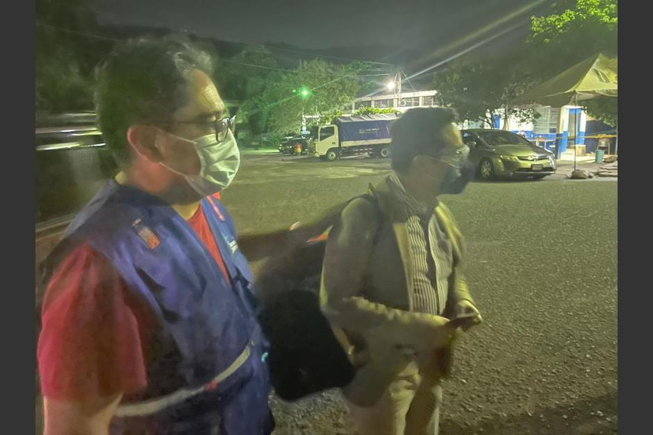 El exfiscal de la FECI, Juan Francisco Sandoval, salió del país en horas de la madrugada de este sábado 24 de julio. (Foto: PDH)