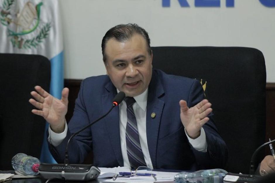 El diputado Aníbal Rojas es el vicepresidente de la Comisión de Derechos Humanos del Congreso. (Foto: Archivo/Soy502)