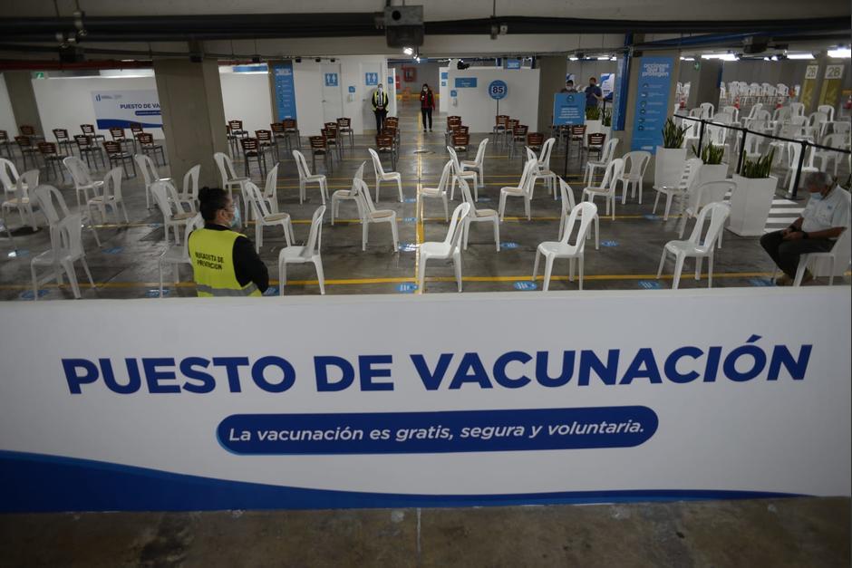 Los centros comerciales de Miraflores y Naranjo Mall serán centros de vacunación a partir de este miércoles 28 julio. (Foto: Wilder López/Soy502)