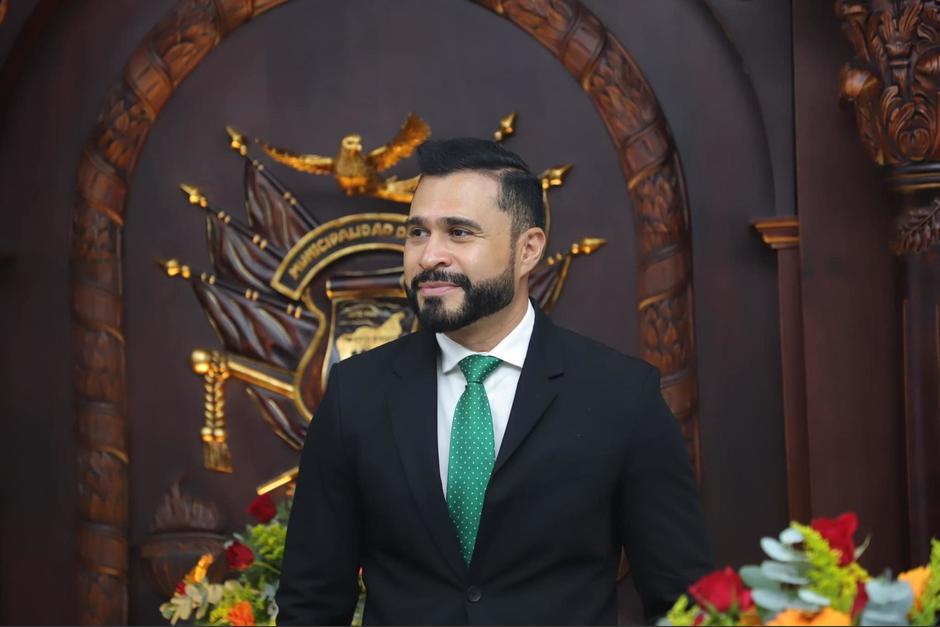 El alcalde de Mixco es señalado de arrendar inmuebles de forma anómala. (Foto: Neto Bran)