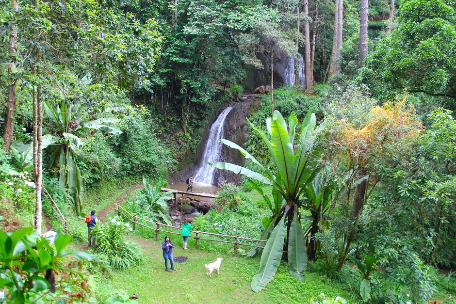 Las cascadas de Tatasirire son una alternativa para disfrutar de un ambiente nuboso. (Foto: Fredy Hernández/Soy502)
