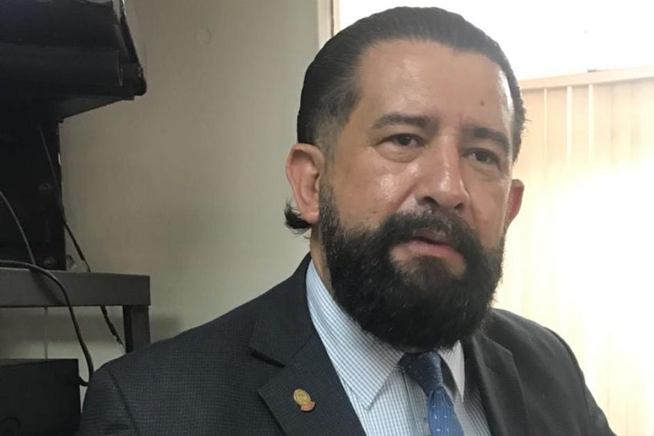 El abogado Otto Gómez fue guardia parlamentario y ahora es abogado penalista. (Foto: archivo/Soy502)