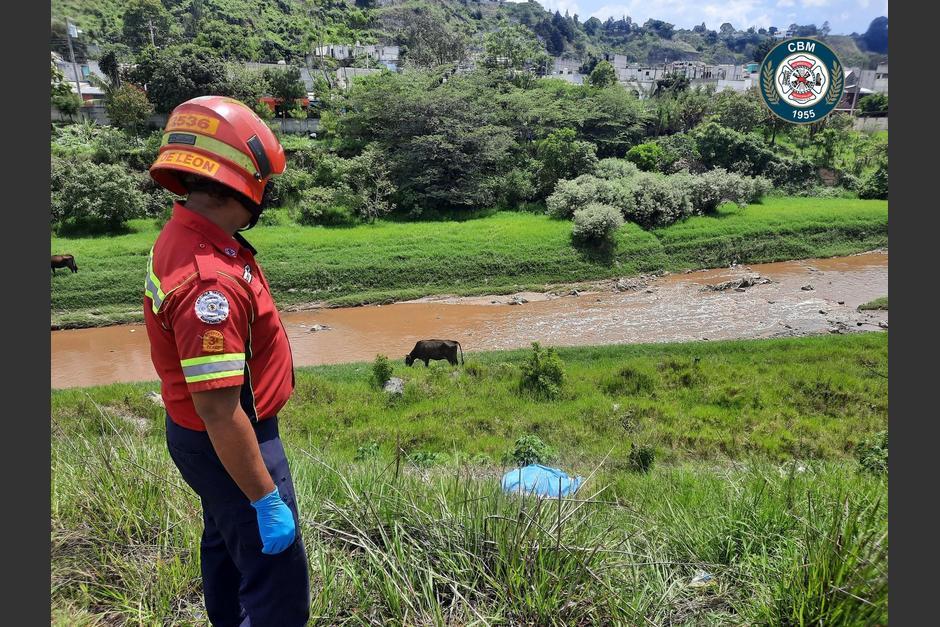 Con el hallazgo de hoy se suman 3 personas fallecidas y encontradas en similares condiciones. (Foto: Bomberos Municipales)