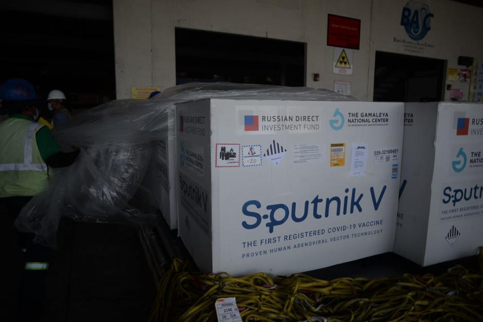 Hasta el momento, Guatemala solo ha recibido 100 mil dosis de Sputnik V. (Foto: Archivo/Soy502)