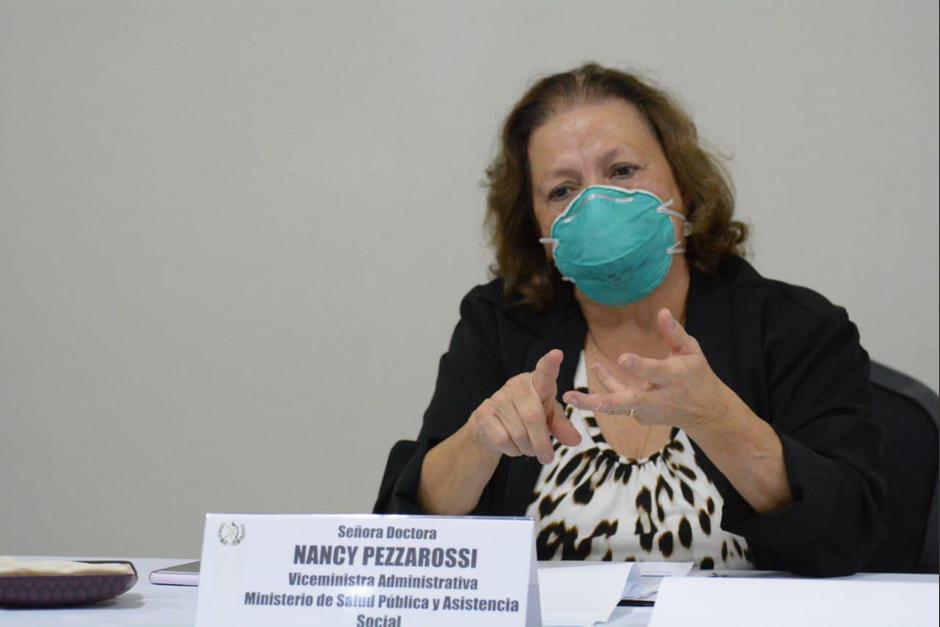 La PDH señaló que hay entre 1,500 y 1,800 casos de Covid-19 diariamente. La viceministra Nanci Pezzarossi reconoció que han perdido el control. (Foto: Ministerio de Salud)
