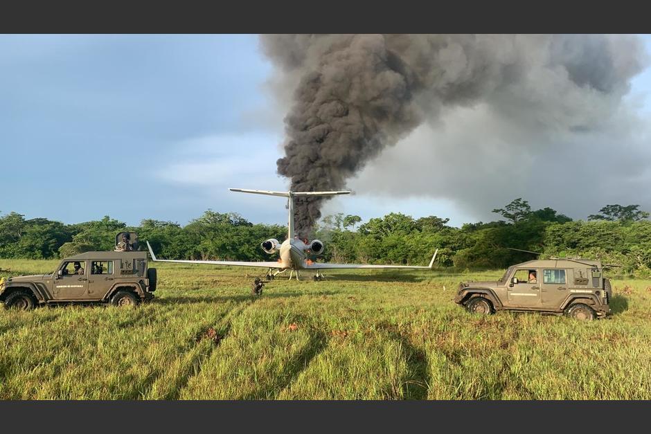 El 4 de agosto una narcoavioneta aterrizó en el país, luego de haber despegado de Venezuela. (Foto: Archivo/Soy502)