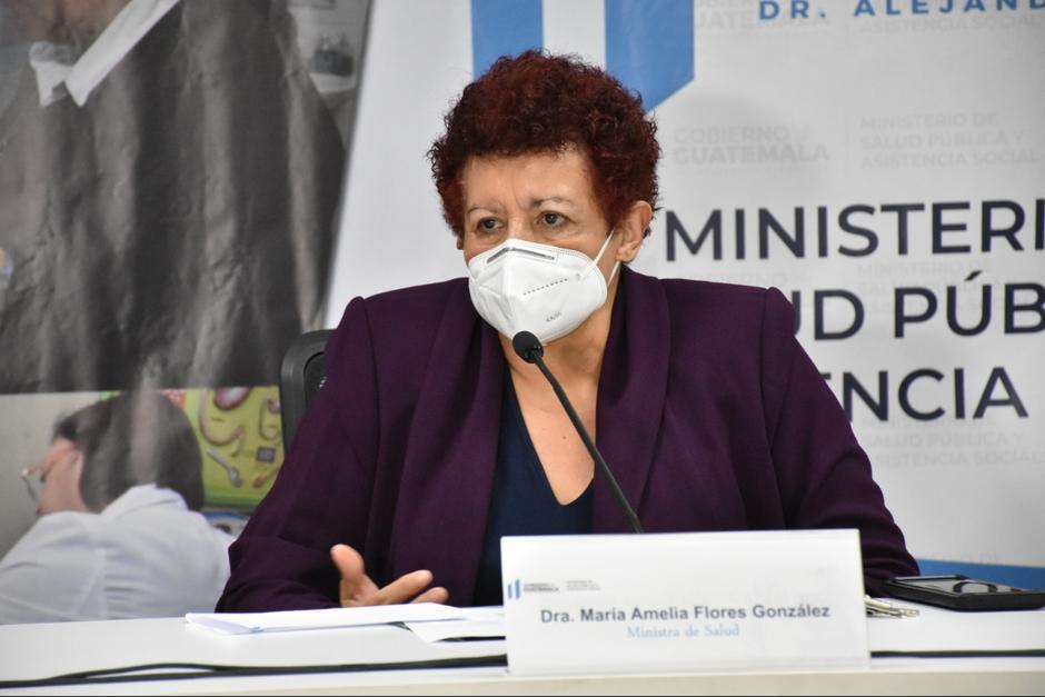 La Ministra de Salud informó que cancillería fue quien le reenvió el contrato de las vacunas rusas. (Foto: Archivo/Soy502)