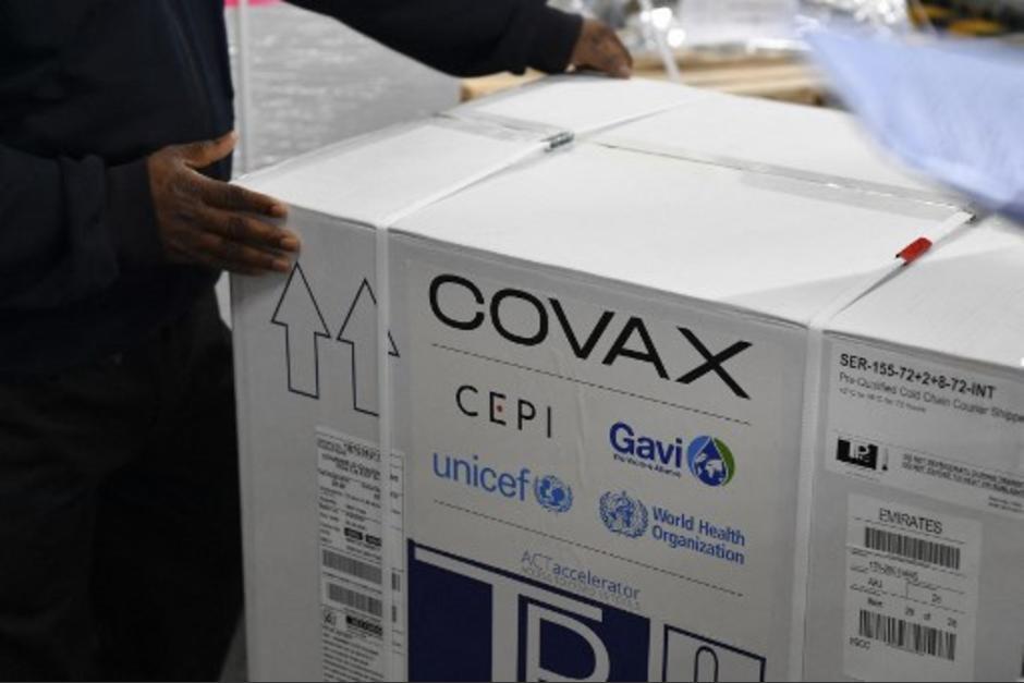 El MSPAS realizó un pago de más de Q86 millones para la compra de las vacunas del mecanismo Covax. (Foto: AFP)