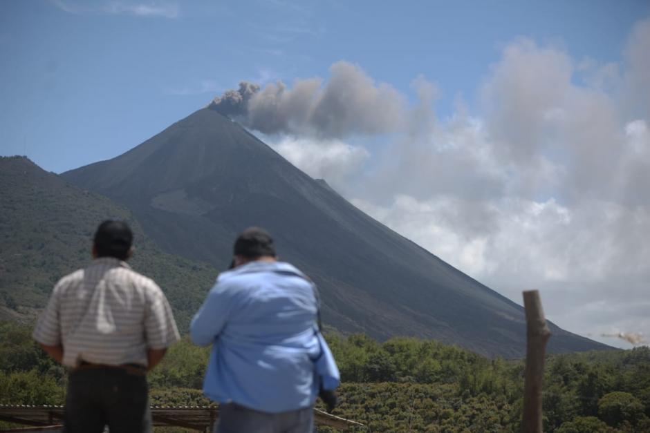 Los pobladores cercanos al volcán de Pacaya se encuentran alertados. (Foto: Wilder López/Soy502)