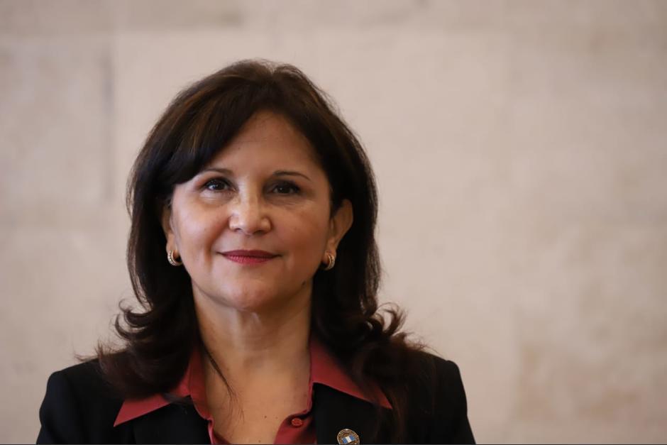Gloria Porras resultó electa como magistrada titular de la CC. (Foto: Usac)