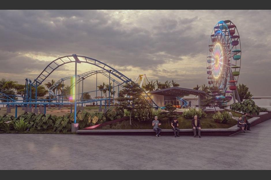El proyecto Surf City contará con complejo turístico y un novedoso parque de diversiones. (Foto: Instagram)